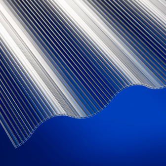 2.5mm Corrugated Twinwall Polycarbonate
